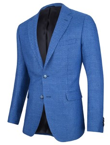 Cavallaro Napoli Orlando Jacket Midden Blauw