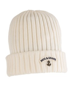 Paul & Shark Bretagne Knitted Hat Off White