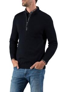 Maerz IQ Wool Zipper Navy