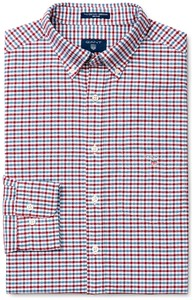 Gant The Oxford 3 Color Gingham Winter Wine