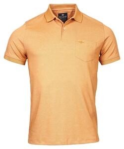 Baileys 2-Tone Oxford Piqué Poloshirt Desert Sun