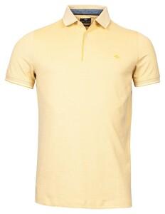 Baileys 2-Tone Oxford Piqué Poloshirt York Yellow