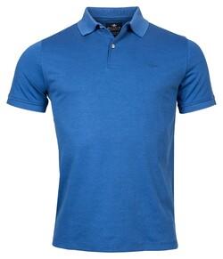 Baileys 2-Tone Oxford Poloshirt Blue
