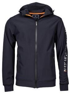 Baileys Cardigan Jacket Zip Hoody Softshell Vest Night Blue Melange