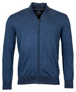 Baileys Cardigan Zip Vest Blauw