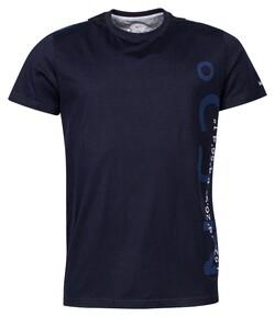 Baileys Crew Neck Contrast T-Shirt Dark Evening Blue