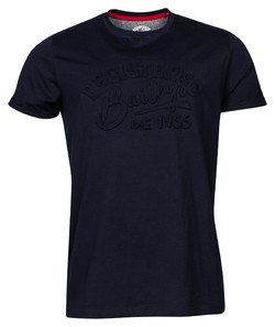 Baileys Crew Neck Jersey Registered 1955 T-Shirt Dark Evening Blue