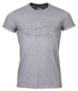 Baileys Crew Neck Jersey Registered 1955 T-Shirt Mid Grey
