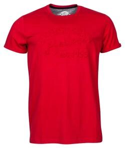 Baileys Crew Neck Jersey Registered 1955 T-Shirt Red