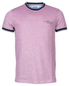 Baileys Crew Neck Pique T-Shirt Cassis