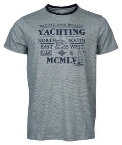 Baileys Crew Neck Yachting T-Shirt Dark Sea Green