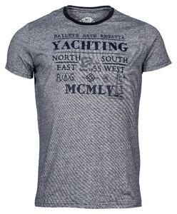 Baileys Crew Neck Yachting T-Shirt T-Shirt Night Blue