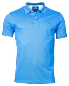 Baileys Double Tuck Piqué Pima Cotton Polo Bright Blue