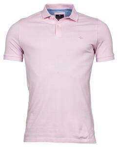 Baileys Double Tuck Piqué Pima Cotton Poloshirt Pink