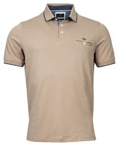 Baileys Piqué Uni Shirt Polo Clay