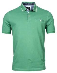 Baileys Piqué Uni Shirt Polo Diep Grasgroen