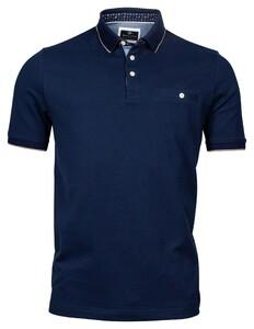 Baileys Piqué Uni Shirt Polo Night Blue
