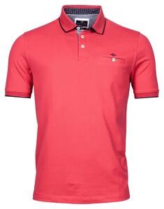 Baileys Piqué Uni Shirt Polo Raspberry Wine
