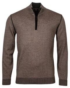 Baileys Pullover Shirt Style Zip Pullover Khaki