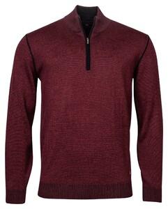 Baileys Pullover Shirt Style Zip Trui Bordeaux