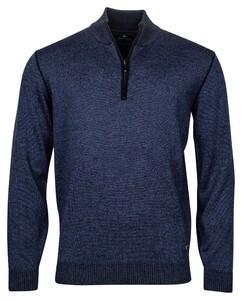 Baileys Pullover Shirt Style Zip Trui Dark Navy