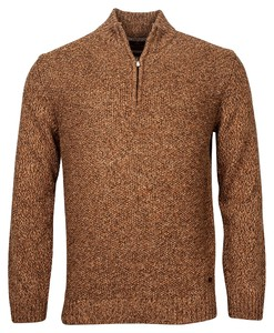 Baileys Pullover Zip Frontbody Structure Pullover Camel