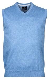 Baileys Spencer Single Knit Pima Cotton Slip-Over Licht Blauw