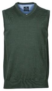 Baileys Spencer Single Knit Pima Cotton V-Neck Slip-Over Green