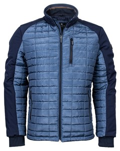 Baileys Square Pattern Outdoor Jacket Jack Bright Blue