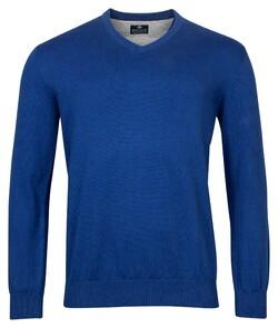 Baileys V-Neck Pullover Pullover Dark Evening Blue