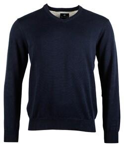 Baileys V-Neck Pullover Pullover Dark Navy
