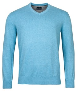Baileys V-Neck Pullover Trui Licht Blauw
