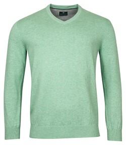 Baileys V-Neck Pullover Trui Licht Groen