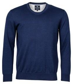 Baileys V-Neck Pullover Trui Night Blue
