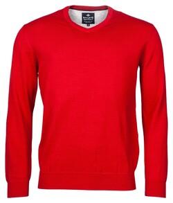 Baileys V-Neck Pullover Trui Rood