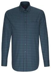 Seidensticker Check Shirt Groen