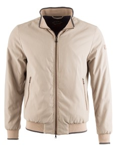 Paul & Shark Super Soft Microfiber Jacket Zand