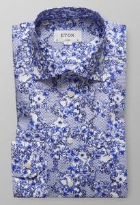 Eton Classic Blue Azulejo Diep Blauw