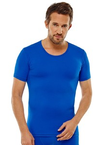 Schiesser Seamless Active Shirt Blauw