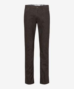 Brax Cadiz TC Wool Look Pants Brown