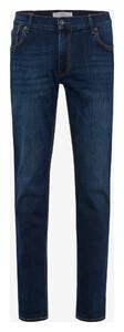 Brax Chuck Hi-Flex Denim Jeans Mid Blue Used