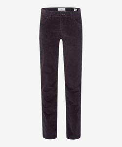 Brax Cooper Fancy Corduroy Trouser Asphalt