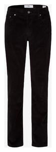 Brax Cooper Fancy Cotton Rib Corduroy Trouser Black