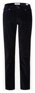 Brax Cooper Fancy Cotton Rib Corduroy Trouser Navy