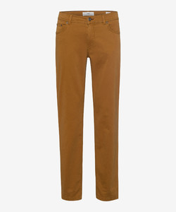 Brax Cooper Fancy Supima Cotton Broek Curry