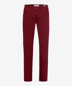 Brax Cooper Fancy Supima Cotton Broek Merlot