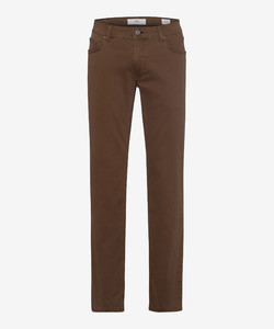 Brax Cooper Fancy Supima Cotton Broek Nut
