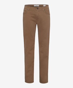 Brax Cooper Fancy Supima Cotton Broek Walnut