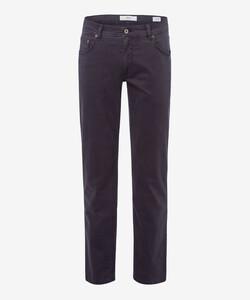 Brax Cooper Fancy Supima Cotton Pants Anthracite Grey