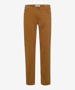 Brax Cooper Fancy Supima Cotton Pants Curry
